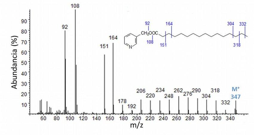 Ácidos Grasos: Analisisis mediante cromatografia de gases acoplada a espectrometria de masas (GC/MS)