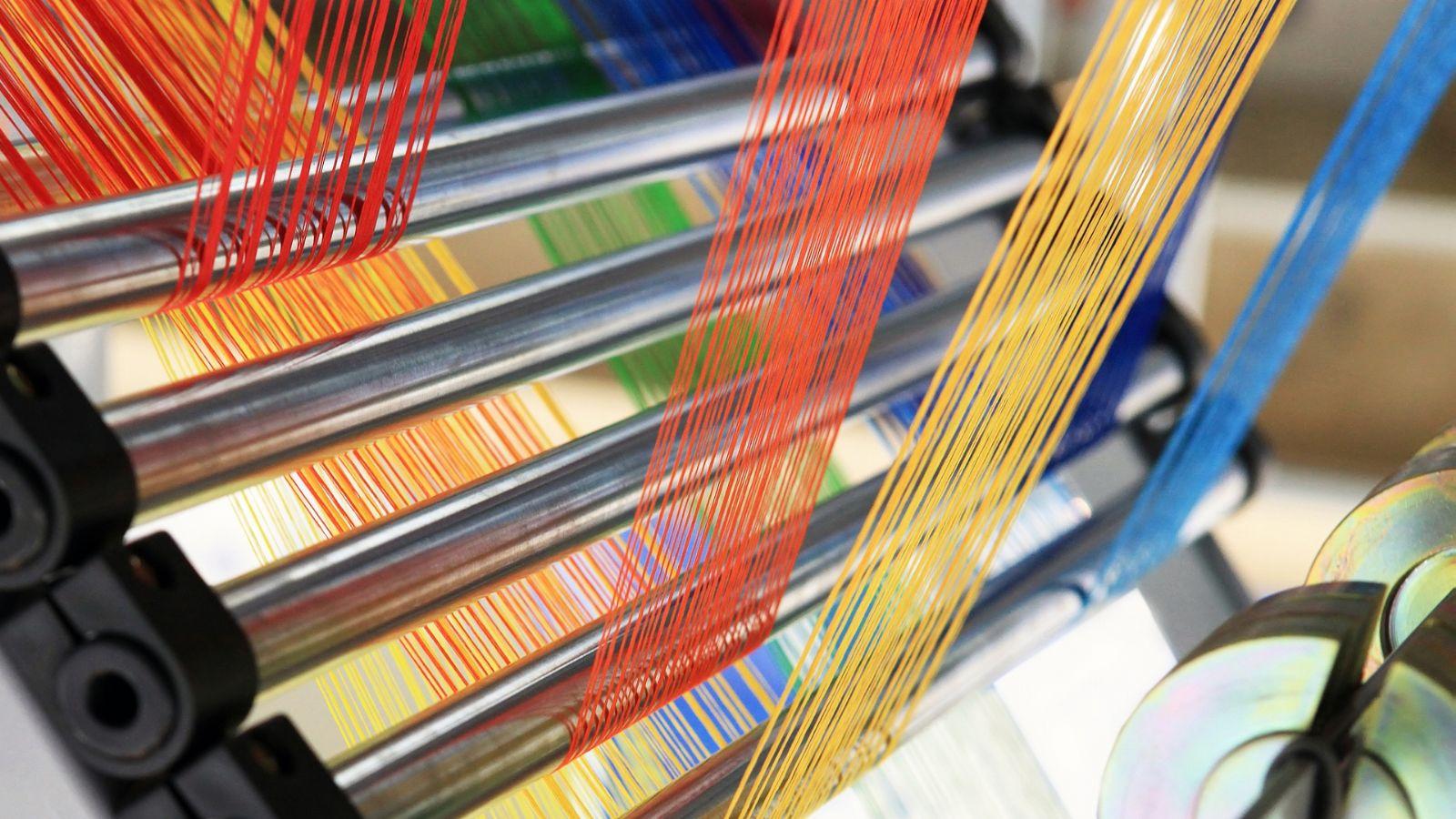 Control de calidad en la industria textil; pruebas de fibra