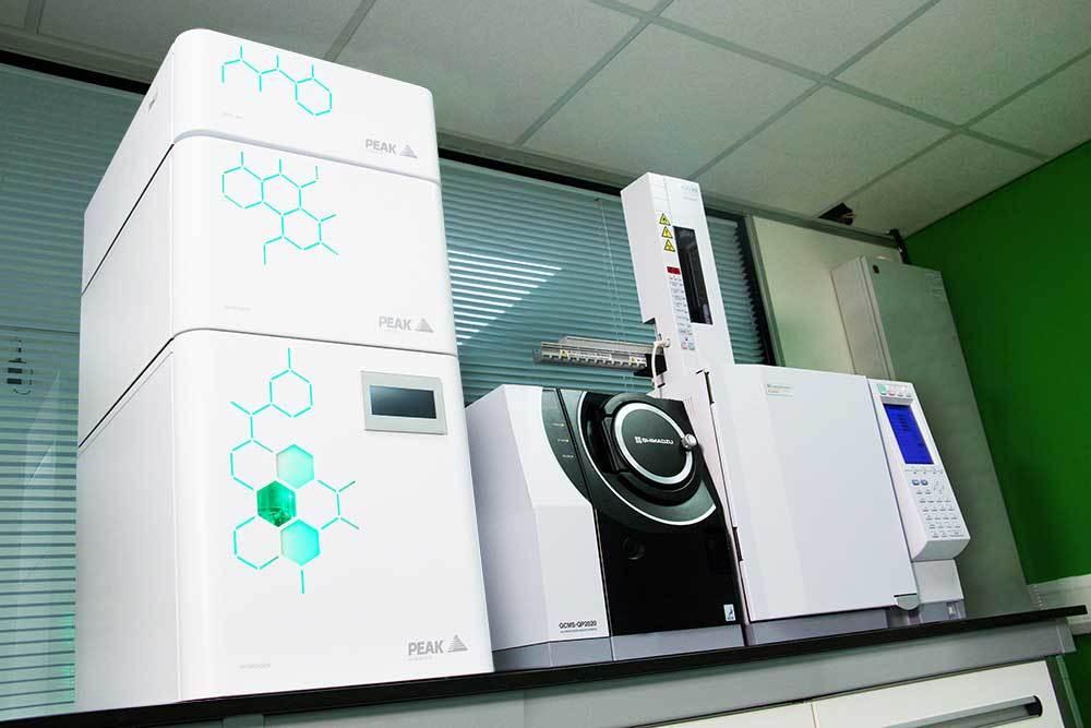 Shimadzu análisis químico