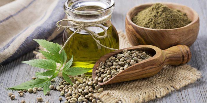THC y CBD en aceite de cáñamo